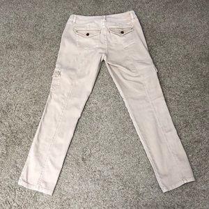 White House Black Market Jeans - 💕 WHBM tan military style skinny jeans💕